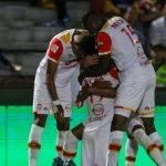 Santa Fe pegó primero y venció 1-0 al Tolima en la semifinal de ida