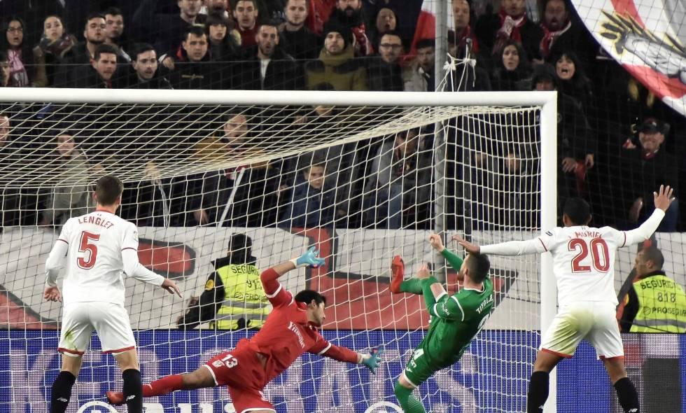 Con Muriel, el Sevilla vence al Leganés y pasa la final de la Copa del Rey