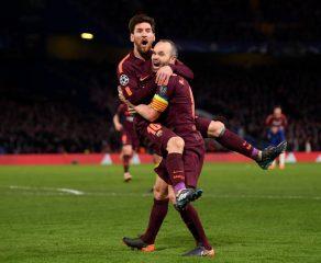 Messi rompió su maleficio contra Chelsea, y le dio el empate al Barcelona