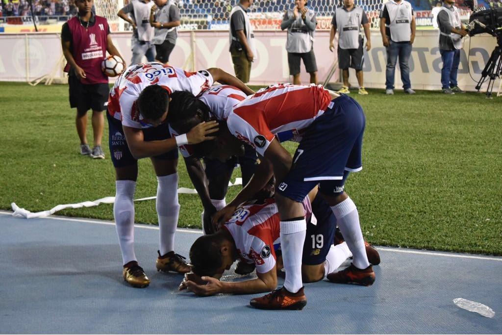 ¡Sí se pudo! Junior derrotó 3-1 a Olimpia y avanza a la fase III de la Libertadores