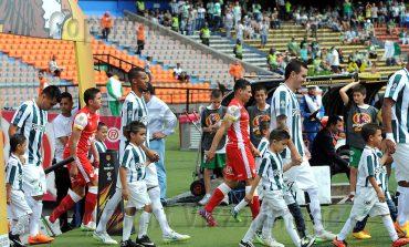 Historial Atlético Nacional vs Santa Fe