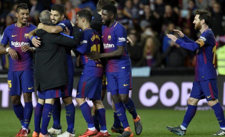 Barcelona vence 2-0 a Valencia y se enfrentará a Sevilla en la final de la Copa del Rey