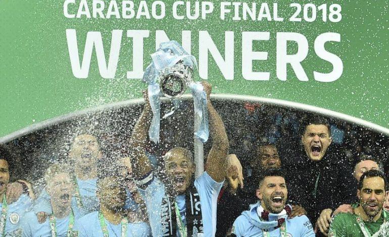 Manchester City gana la Copa de la Liga