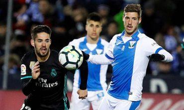 Real Madrid venció como visitante al Leganés y se encaramó al tercer puesto