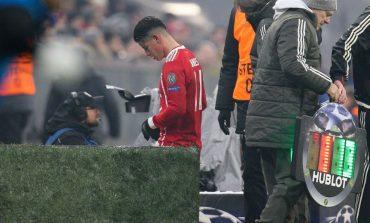 James salió lesionado ante Besiktas en la Champions League
