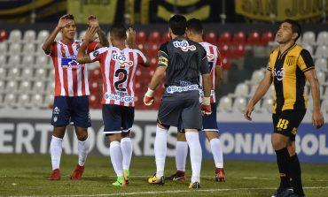 Junior empató con Guaraní en la vuelta y clasificó al grupo 8 de la Copa Libertadores