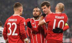 El Bayern aplastó al Besiktas y James salió lesionado