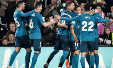 El Real Madrid goleó al Betis 5-3 tras un buen segundo tiempo