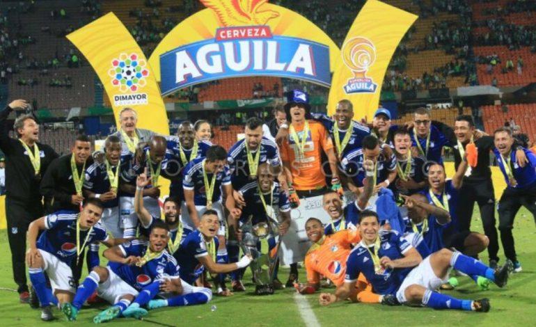 Con doblete de Ovelar, Millonarios se consagra campeón de la Superliga