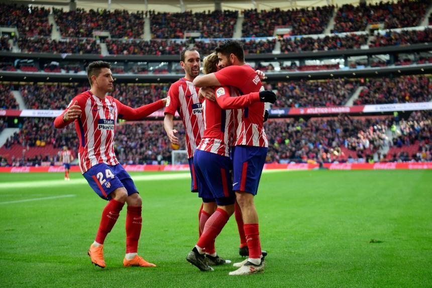 El Atlético Madrid golea 3 – 0 al Celta y mantiene sus esperanzas