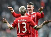 En el regreso de James, el Bayern ganó y clasificó a cuartos de la Champions