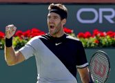 Juan Martín Del Potro derrotó a Federer, y conquistó Indian Wells por primera vez