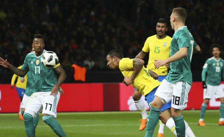 ¡Mini revancha! Gabriel Jesús le dio el triunfo 1-0 a Brasil sobre Alemania
