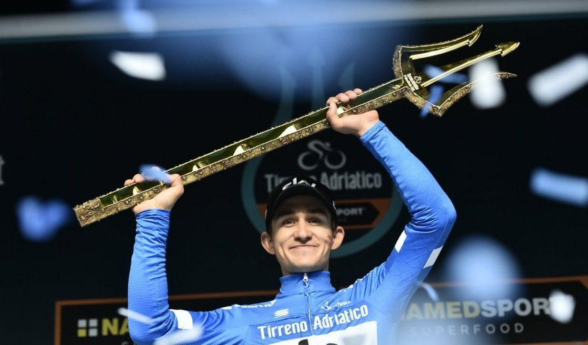 Michal Kwiatkowski se corona campeón en la Tirreno-Adriático