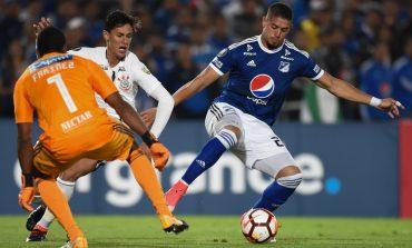 Pálido empate de Millonarios ante Corinthians en El Campín