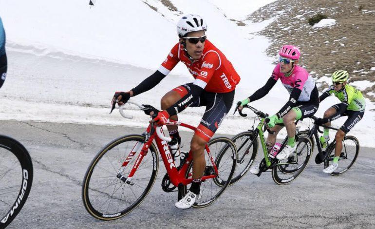 Jarlinson Pantano demostró toda su fuerza y se llevó la quinta etapa de la Volta