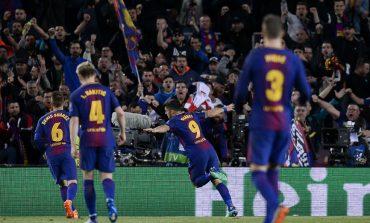 Barcelona golea a la Roma y se acerca a semifinales de Champions