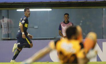 Junior se enredó en La Bombonera y Boca lo derrotó 1-0