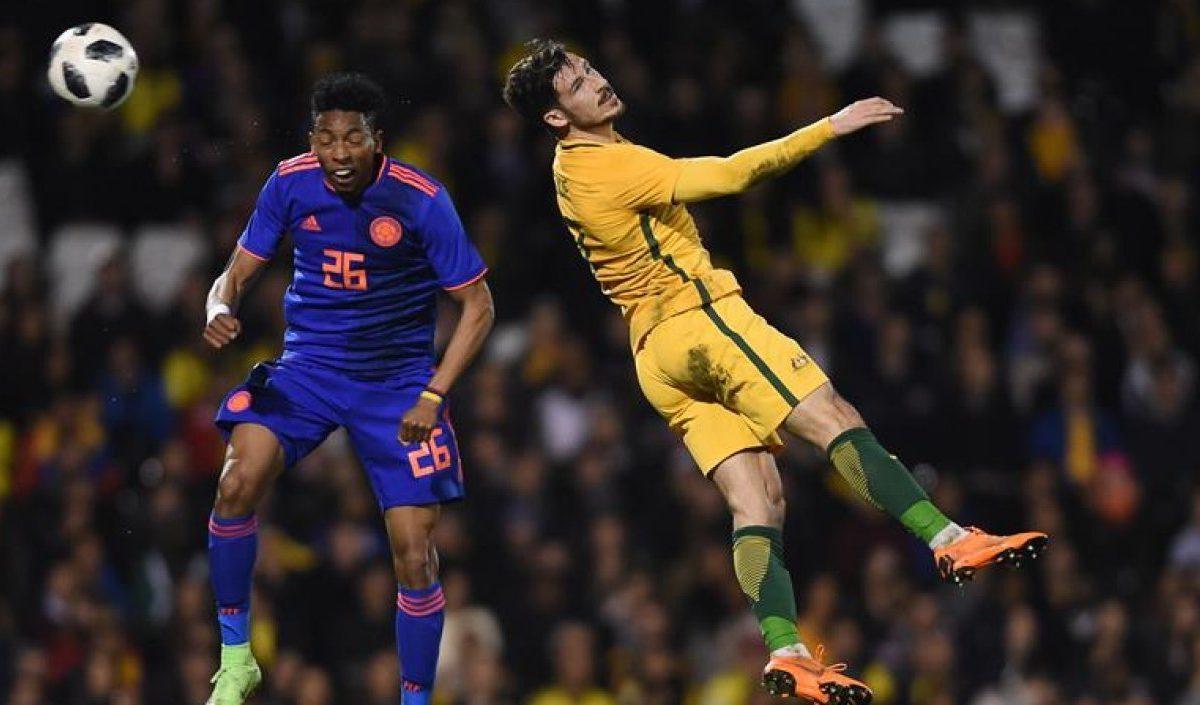 """""""Para estar en los 23, hay que seguir en buen nivel"""": Johan Mojica"""