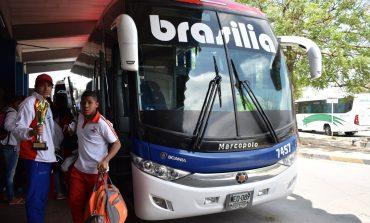 Por fin llegó a Barranquilla la delegación de Lucha Olímpica del Atlántico