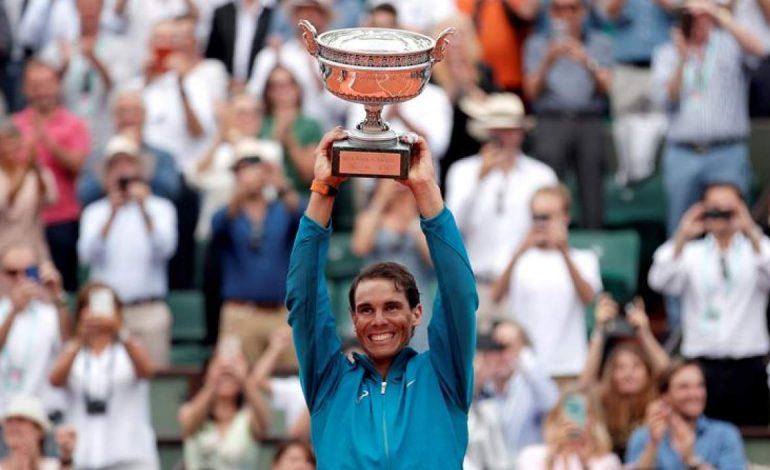 Nadal ganó Roland Garros por undécima vez al batir a Thiem en tres sets