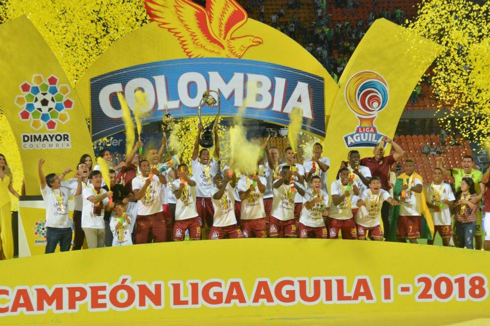 Tolima silenció el Atanasio y se coronó campeón de la Liga Águila