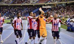 Junior regresó 'poderoso' al Metro y derrotó 2-1 al Medellín