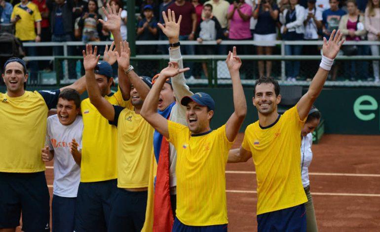 Colombia definió equipo para serie de Copa Davis ante Argentina