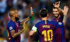 Messi y Dembélé aplicaron un incontestable 4-0 al PSV