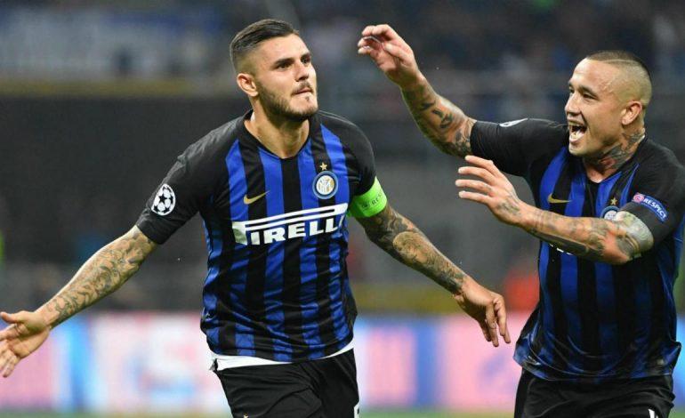 Icardi y Vecino firman la remontada del Inter, en la 'Champions'