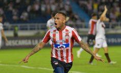 Jarlan Barrera le dio la victoria 1-0 a Junior sobre Colón de Argentina