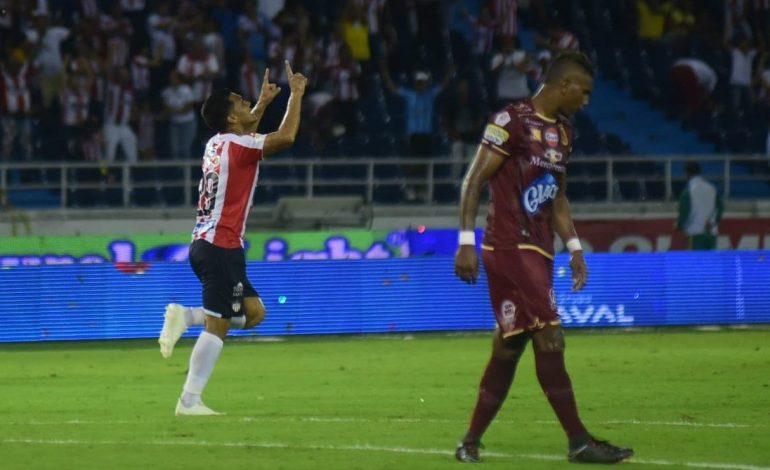 Impresionante remontada de Atlético Junior ante Deportes Tolima